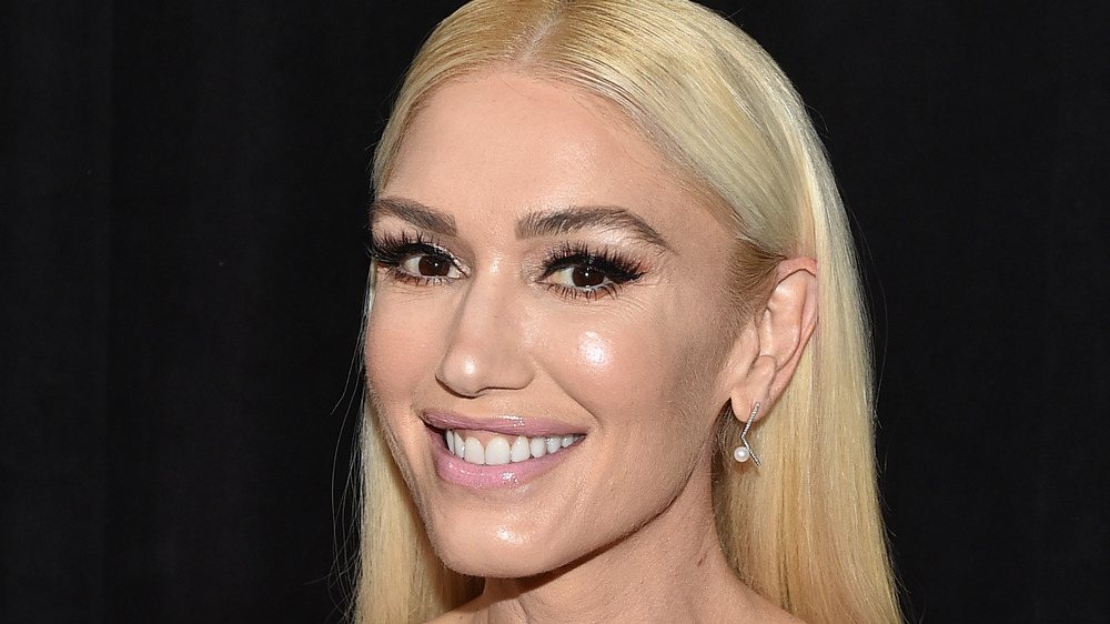 Gwen Stefani smiles
