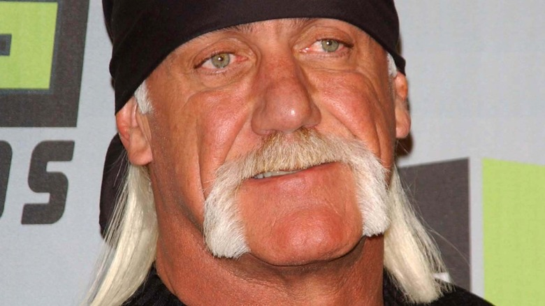 Hulk Hogan on red carpet