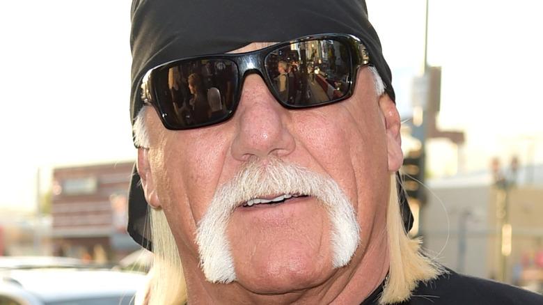 Hulk Hogan on the street