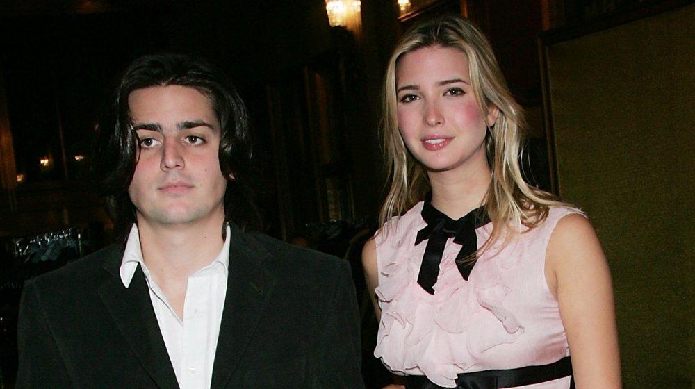 Ivanka Trump and James Gubelmann