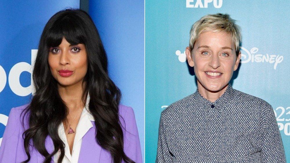 Jameela Jamil & Ellen DeGeneres
