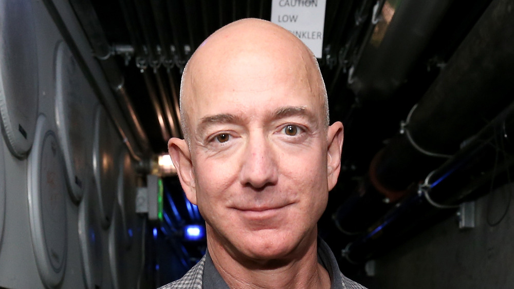 Jeff Bezos posing for a photo