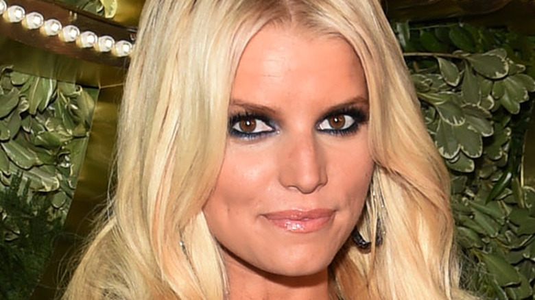 Jessica Simpson attending the 10th Anniversary Celebration of the Jessica Simpson Collection