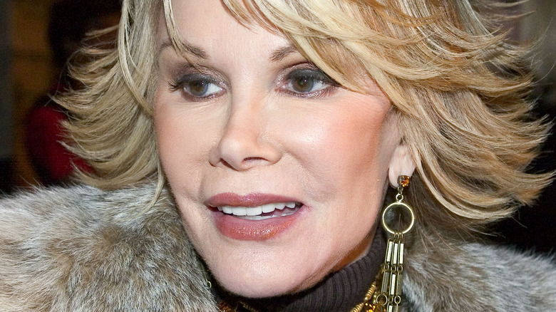 Joan Rivers at an event in 2005