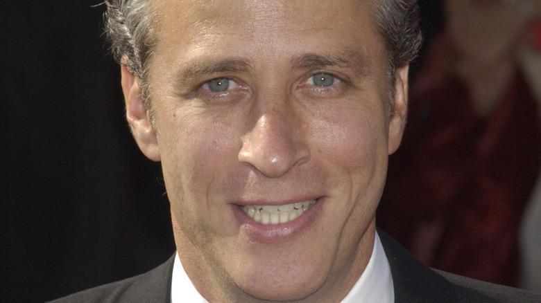 Jon Stewart smiling