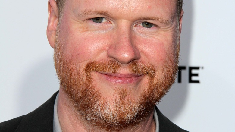 Joss Whedon smiling at the camera