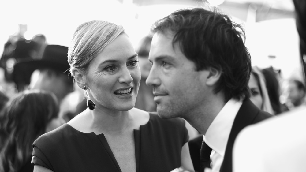 Kate Winslet and Ned Rocknroll at a red carpet event