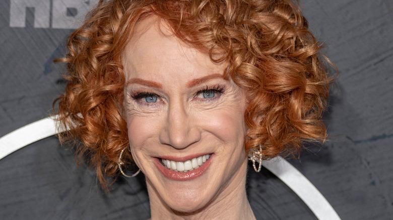 Kathy Griffin big smile