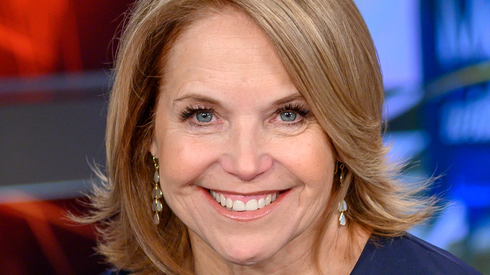 Katie Couric smiling