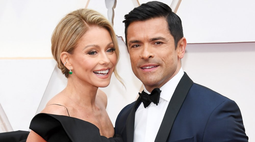 Kelly Ripa and Mark Consuelos attend the 92nd Annual Academy Awards at Hollywood and Highland