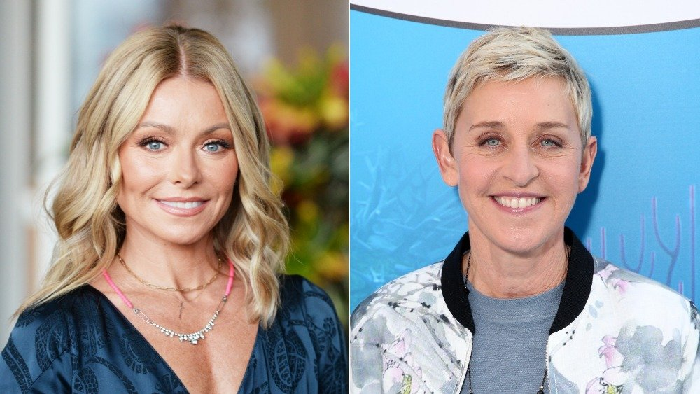 Kelly Ripa, Ellen DeGeneres
