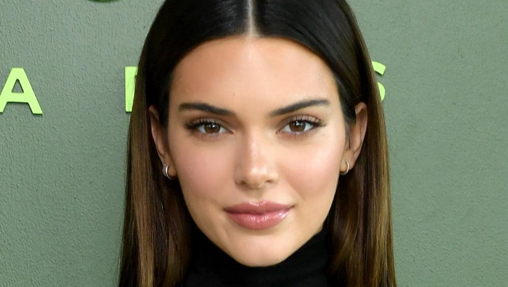 Kendall Jenner posing