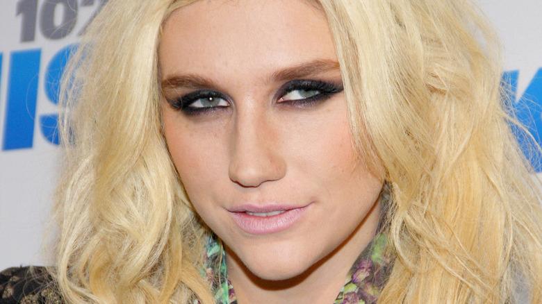 Kesha smiling