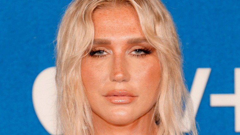 """Kesha attends Apple's """"Ted Lasso"""" season two premiere at Pacific Design Center"""