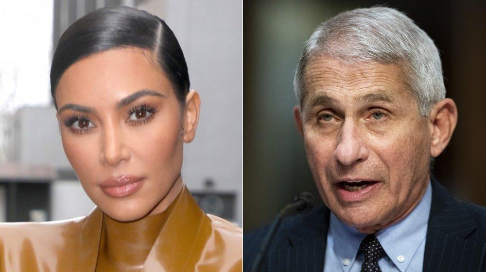 Kim Kardashian, Dr. Anthony Fauci
