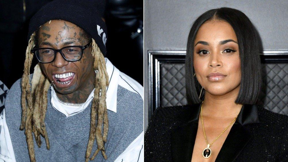 Lil Wayne and Lauren London