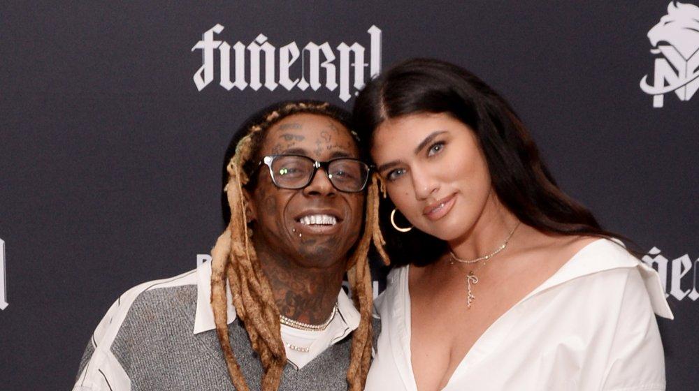 Lil Wayne and La'Tecia Thomas