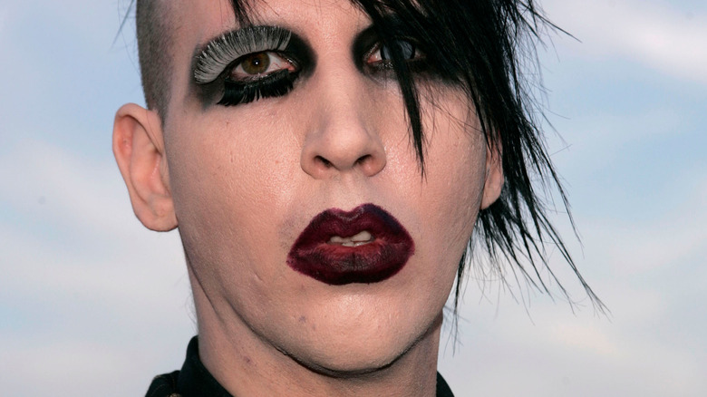 Marilyn Manson serious