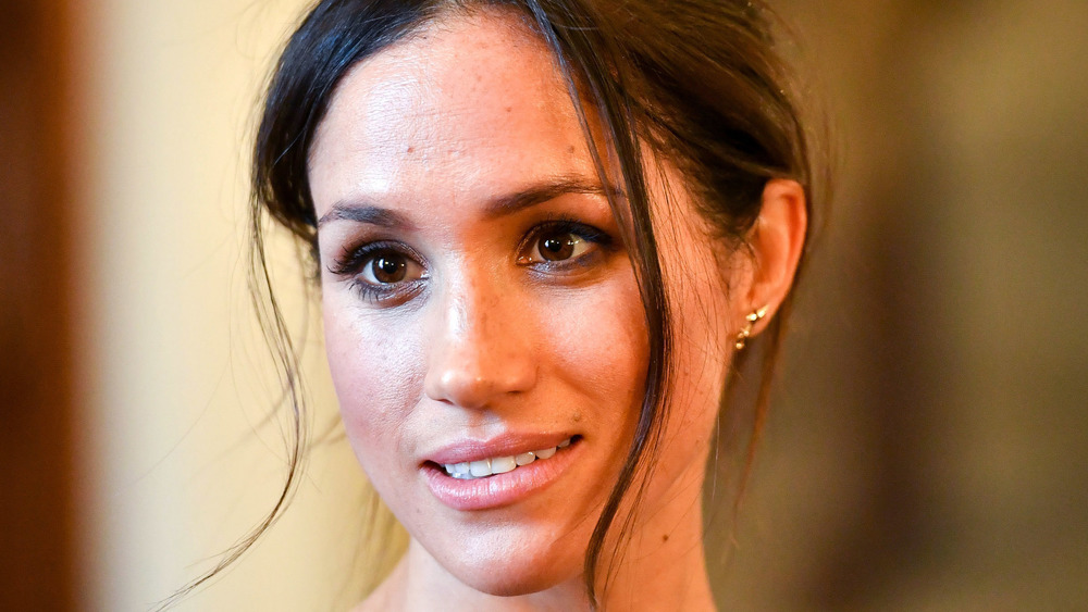 Meghan Markle at Cardiff Castle in 2018