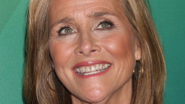 Meredith Vieira on a red carpet