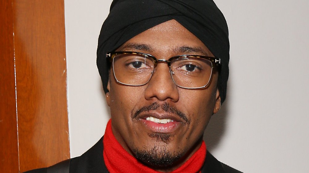Nick Cannon attends the Hollywood Chamber of Commerce 2019 State of The Entertainment Industry Conference held at Lowes Hollywood Hotel