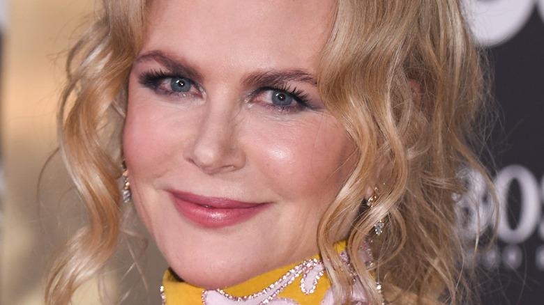 "Nicole Kidman on 2019's GQ ""Men of the Year"" red carpet"