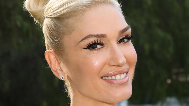 Gwen Stefani poses in 2020
