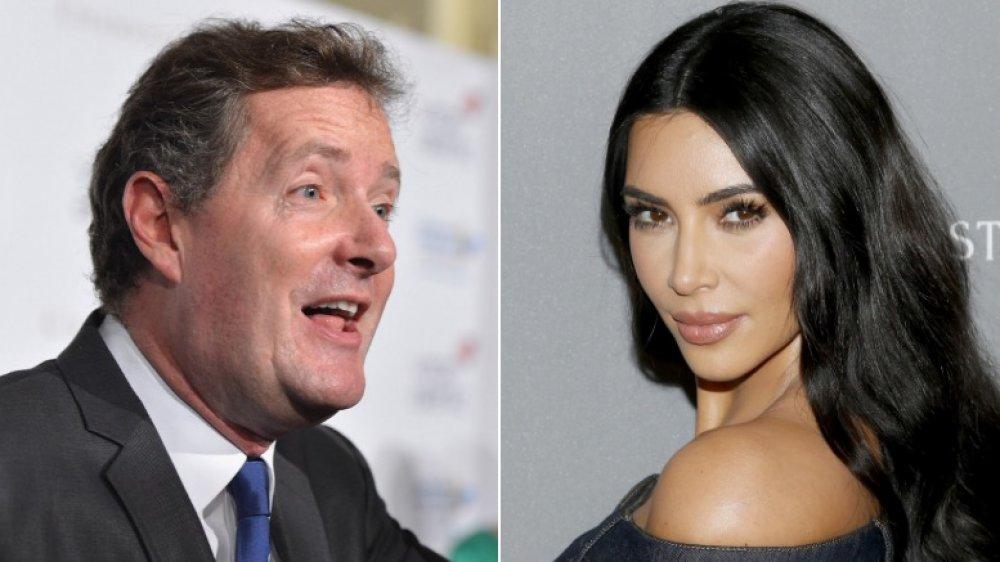 Piers Morgan and Kim Kardashian
