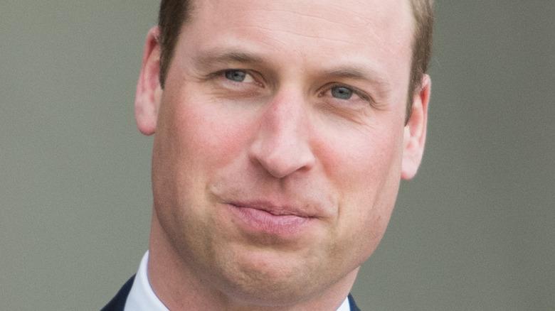 Prince William lips