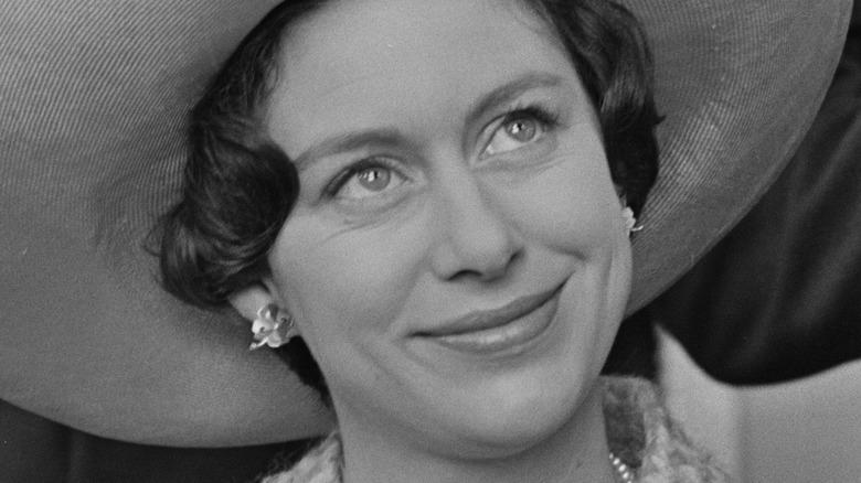 Princess Margaret smiling at a royal event