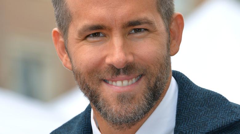 Ryan Reynolds smile