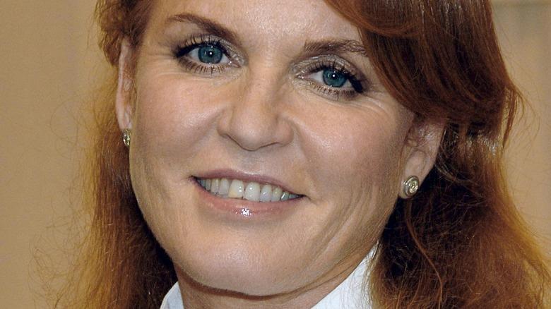 Sarah Ferguson blue eyes