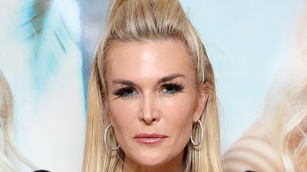 Tinsley Mortimer looking serious