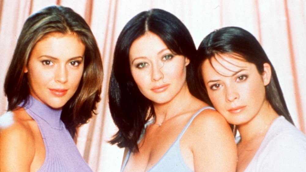 """Alyssa Milano, Holly Marie Combs, Shannen Doherty from the TV show """"Charmed"""""""
