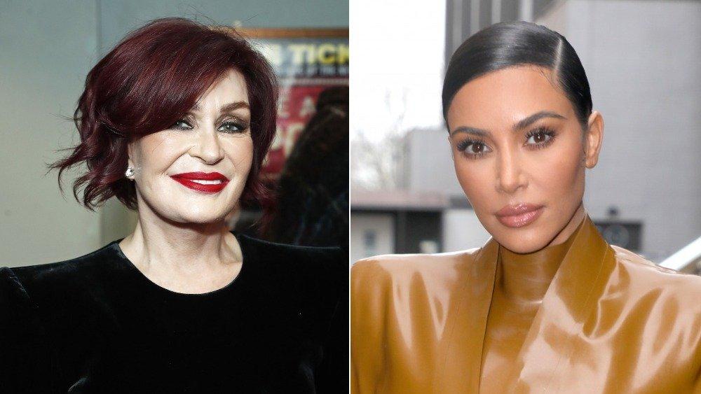 Sharon Osbourne and Kim Kardashian