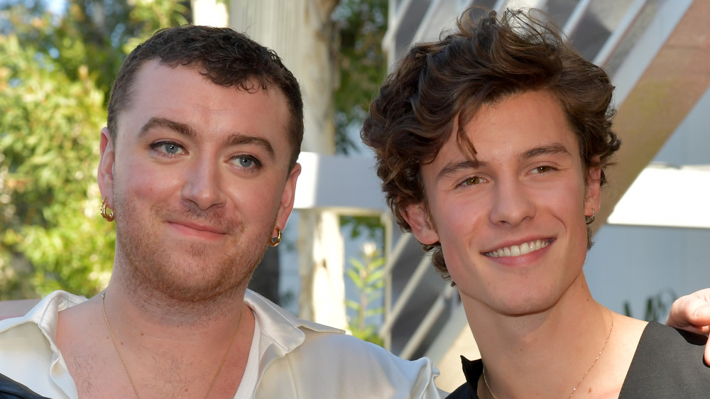 Sam Smith and Shawn Mendes
