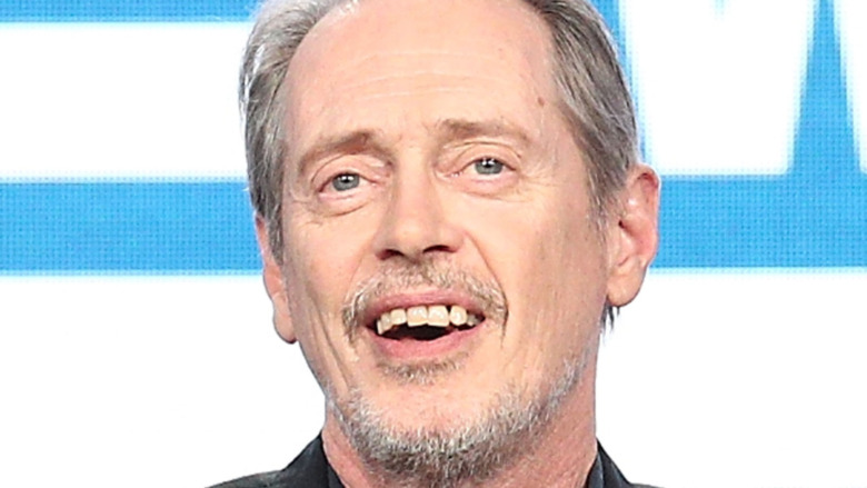 Steve Buscemi on the red carpet