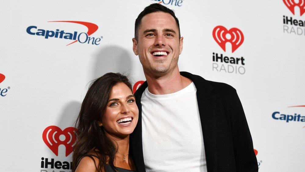 Jessica Clarke and Ben Higgins attend the 2019 iHeartRadio Music Festival