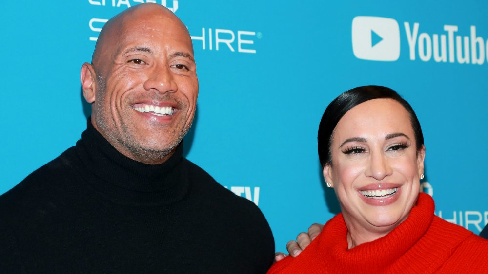 The Rock and First Wife