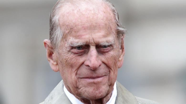Prince Philip parade Buckingham Palace