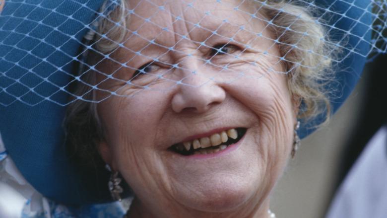 Queen Mother teeth