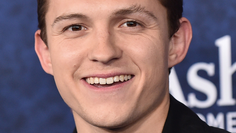Tom Holland smiling in 2020