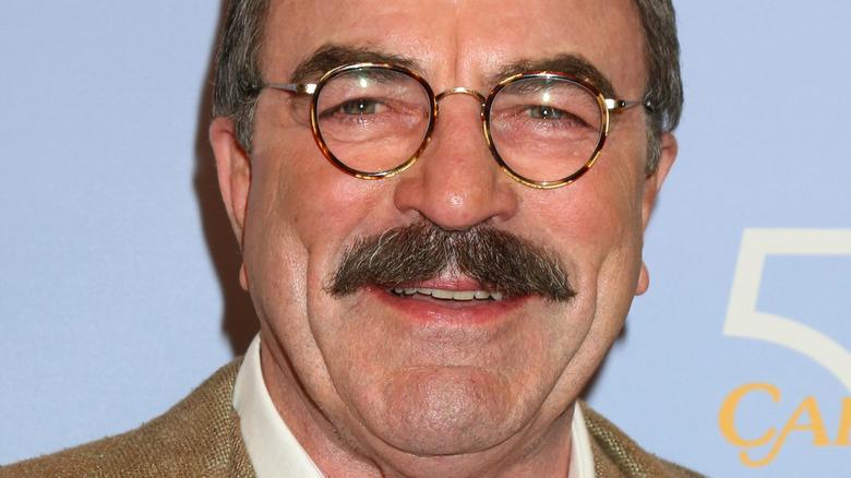 Tom Selleck smiling