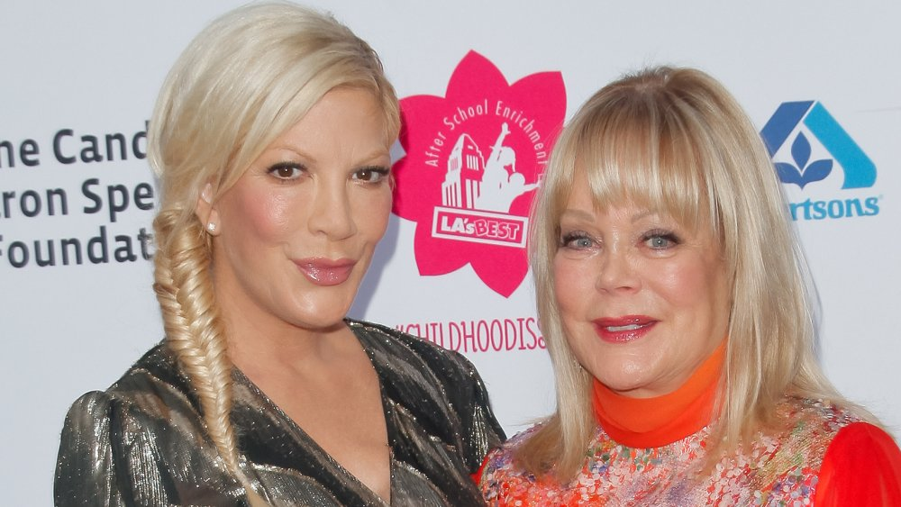 Tori and Candy Spelling
