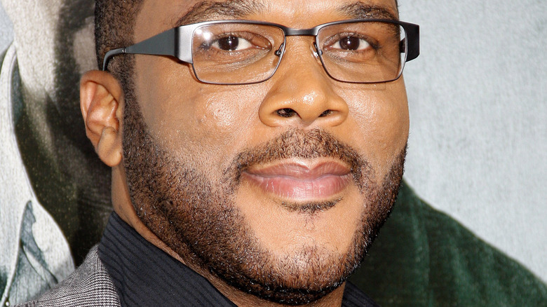 Tyler Perry on the red carpet
