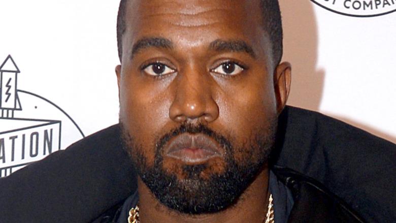Kanye West attending Fast Company Innovation Festival