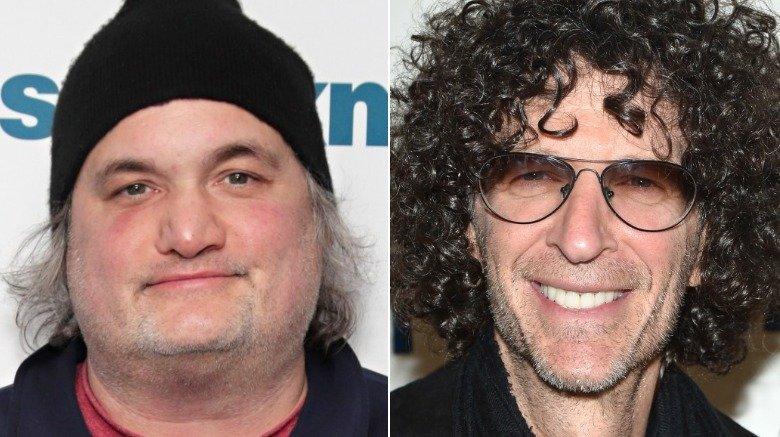 Artie Lange and Howard Stern