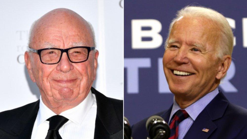 Rupert Murdoch and Joe Biden