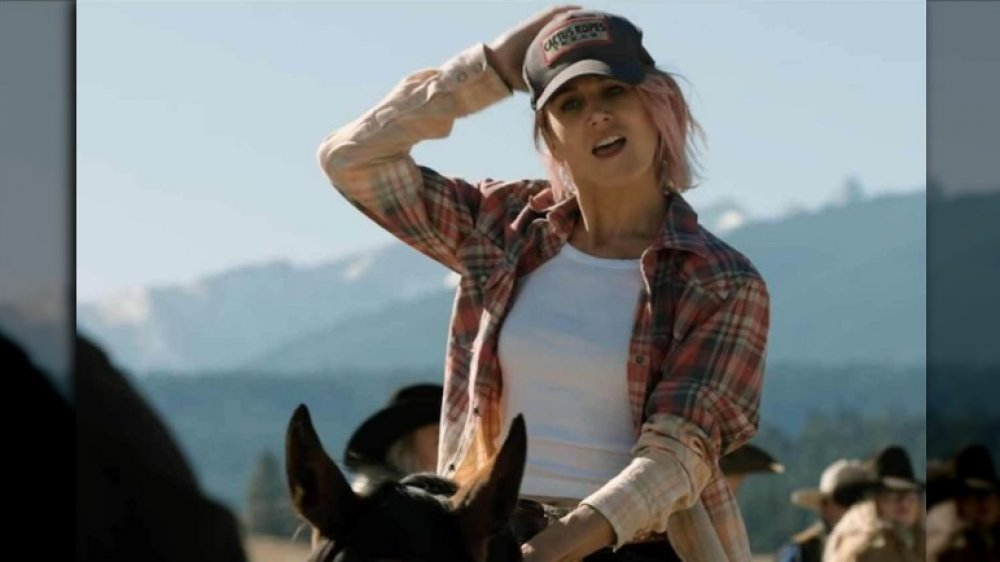 Actress Jennifer Landon as Teeter in Yellowstone