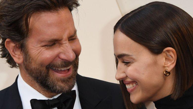 Bradley Cooper and Irina Shayk at the 2019 Oscars red carpet